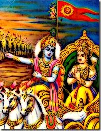 [Arjuna and Krishna]