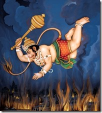 [Hanuman fire]