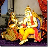 [Dasharatha and Kaikeyi]