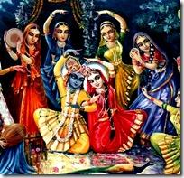 [Krishna with gopis]