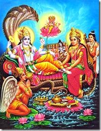 [Worshiping Narayana]
