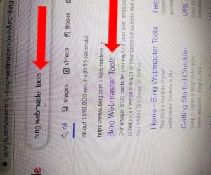 Bing webmaster tools in hindi