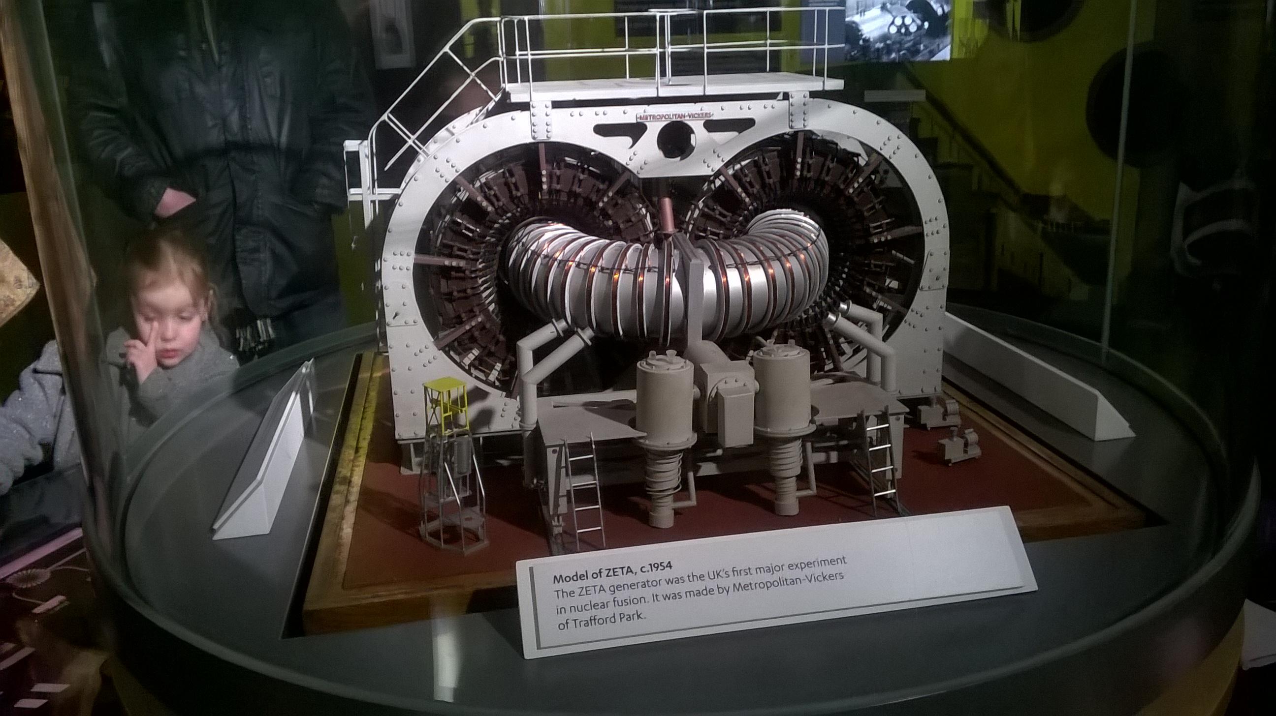 Kodolreaktors ZETA (makets)