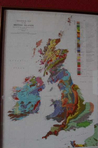 Britu salu ģeoloģiskā karte