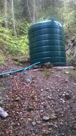 Vietējās fermas ūdens ņemšanas vieta