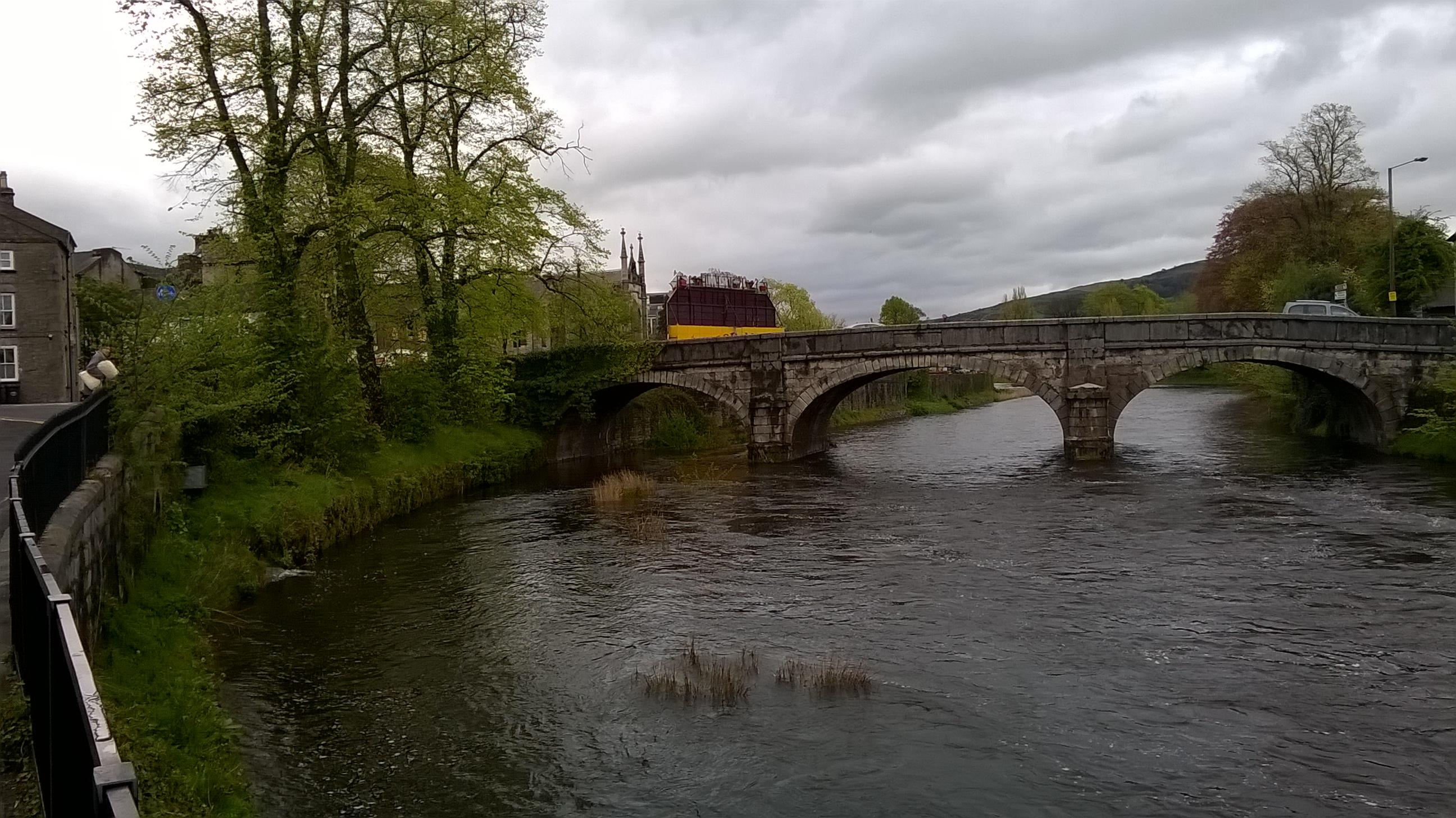 Kentas upe (River Kent)