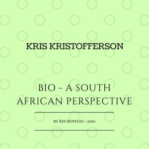 Kris Kristofferson South Africa