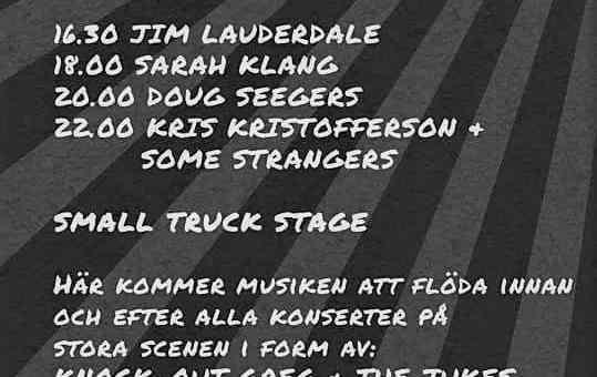Kristofferson Tour 2018 Sweden
