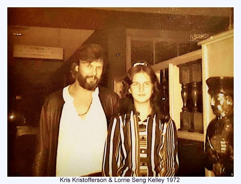 Kristofferson 1972 with Lorrie