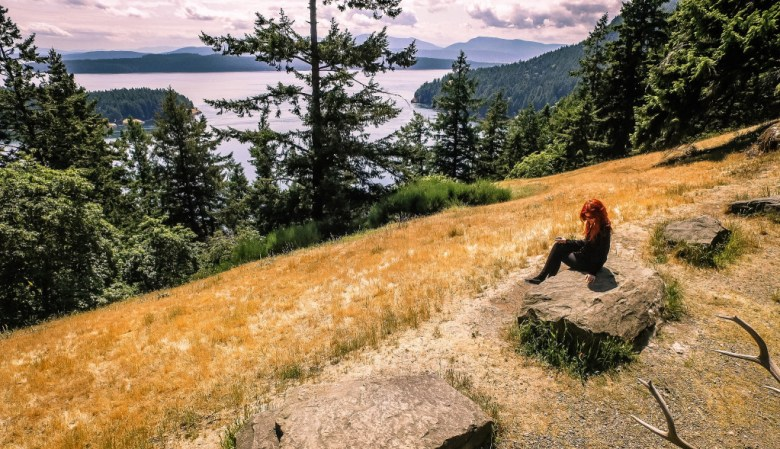 Meaghan Kennedy - The Bluffs - Galiano Island, British Columbia, Canada