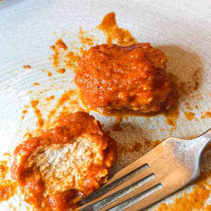The Best Juicy Chicken Meatball Recipe