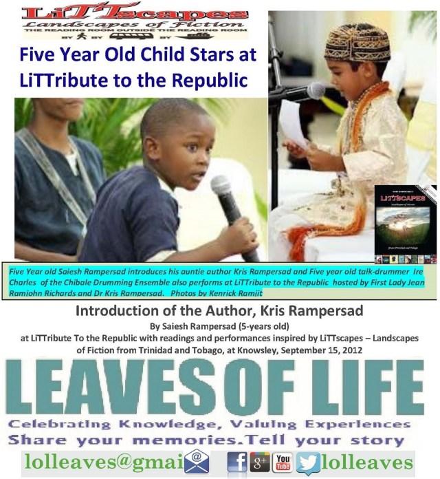 Child Stars at LiTTribute by Kris Rampersad