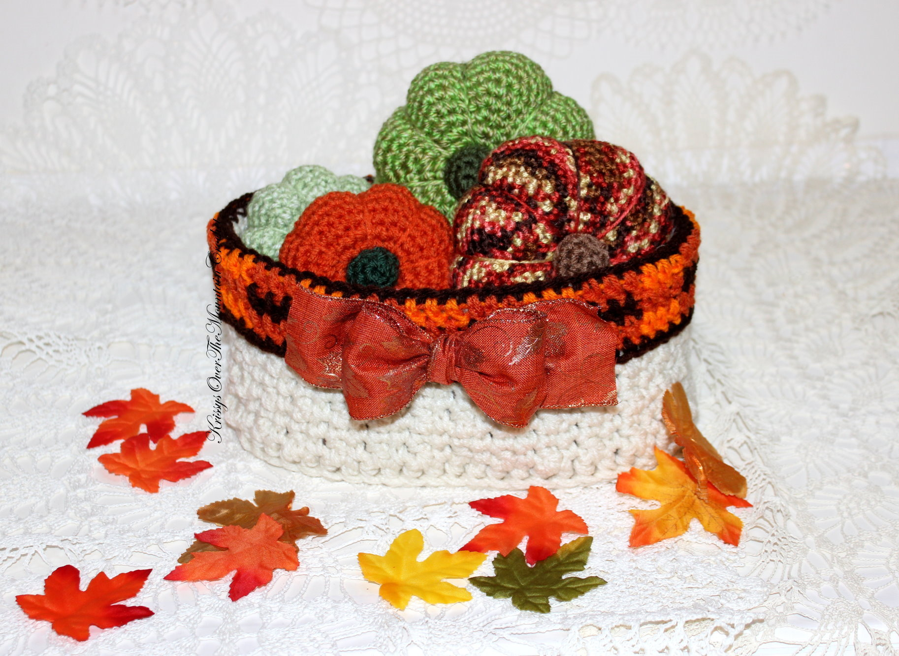 Crochet Basket Oval