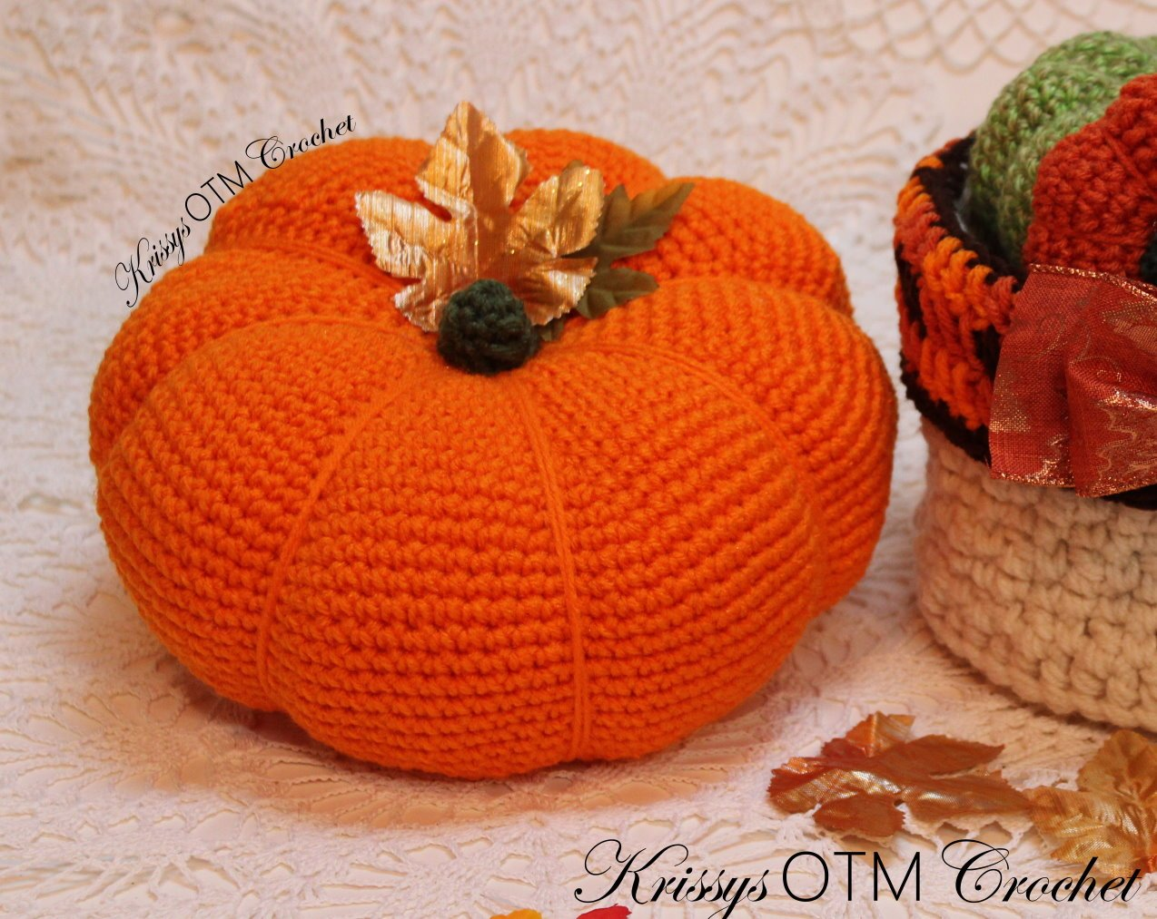 Big Pumpkin Crochet Pattern