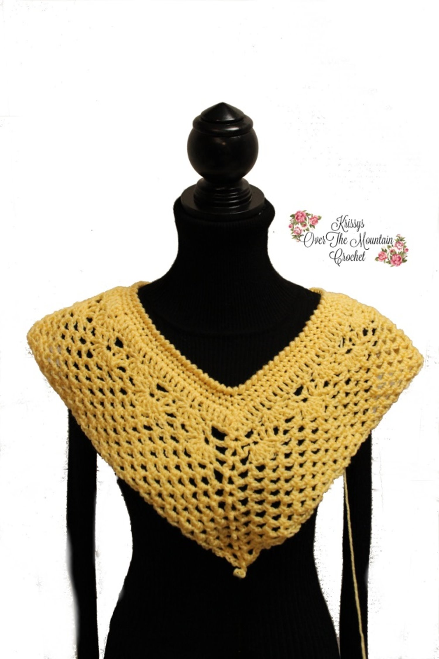 Neckline Tutorial Krissys Over The Mountain Crochet