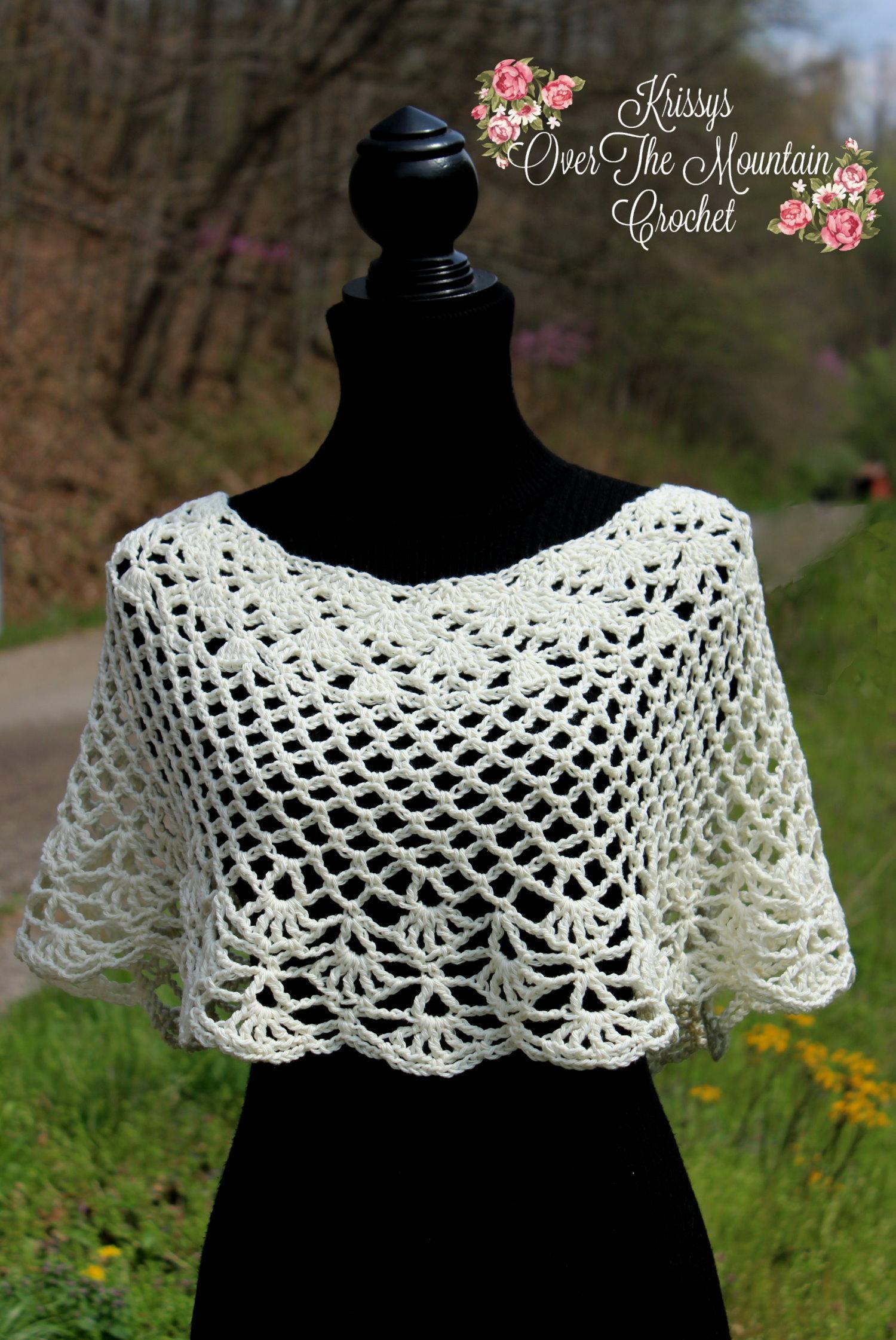capelet crochet pattern