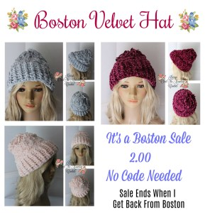 Boston Velvet Hat