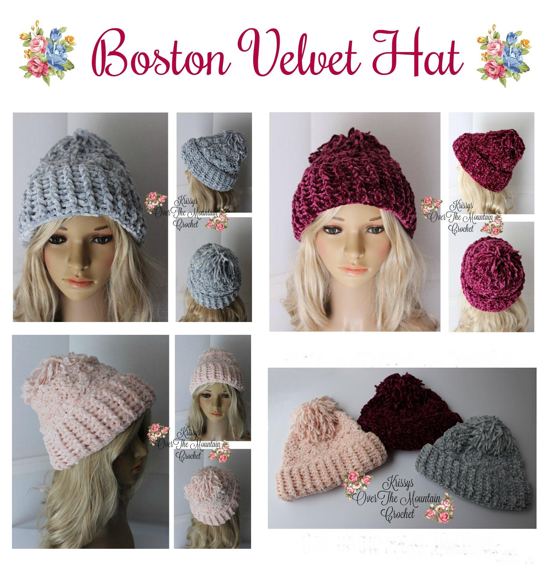Boston Velvet Hat