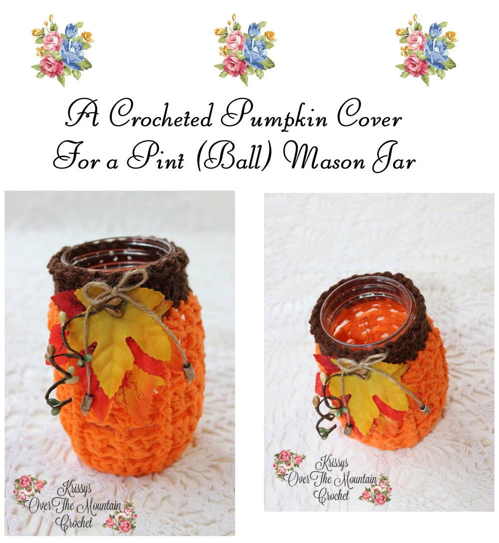 Pint Mason Jar cover