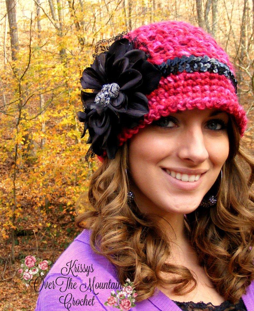 Black Dahlia hat