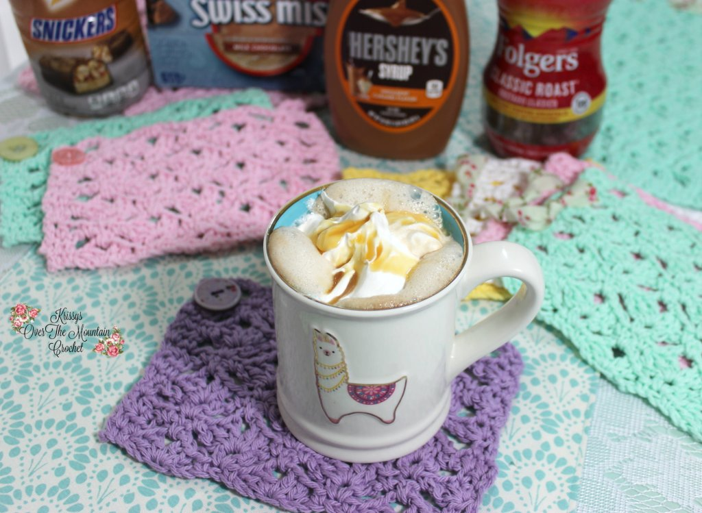 Caramel Snickers Coffee