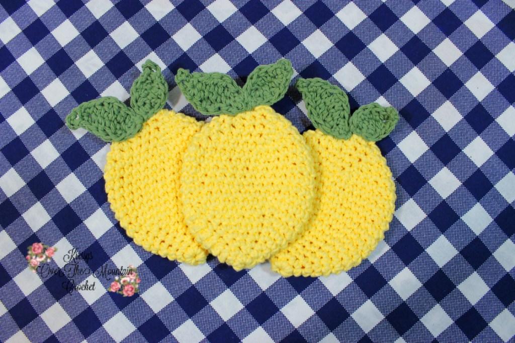 Lemon Dishcloth