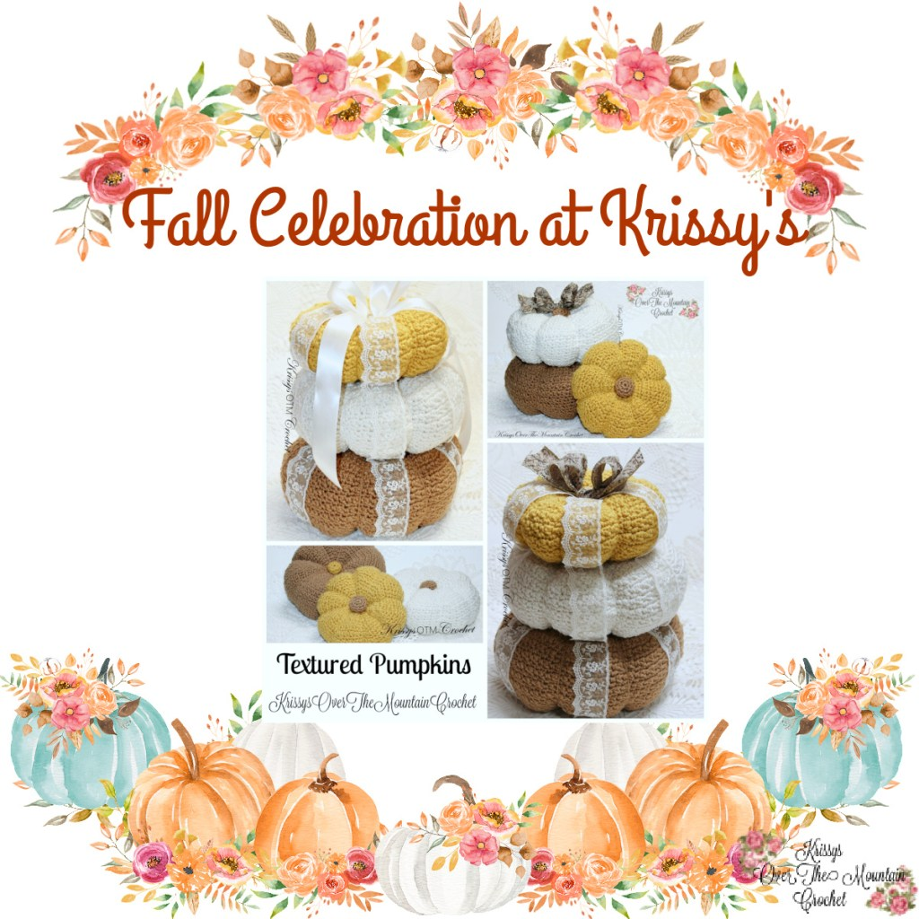 Fall Celebration At Krissys, Pumpkin Tower Crochet Pattern