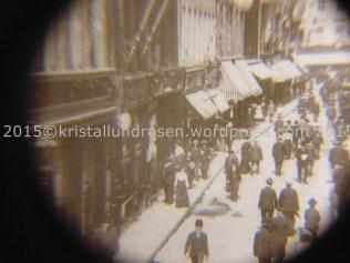 Blick auf die Hohe Str. Stereoskopie 1910 1
