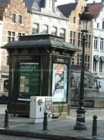 Zeitungskiosk nähe Grasmarkt
