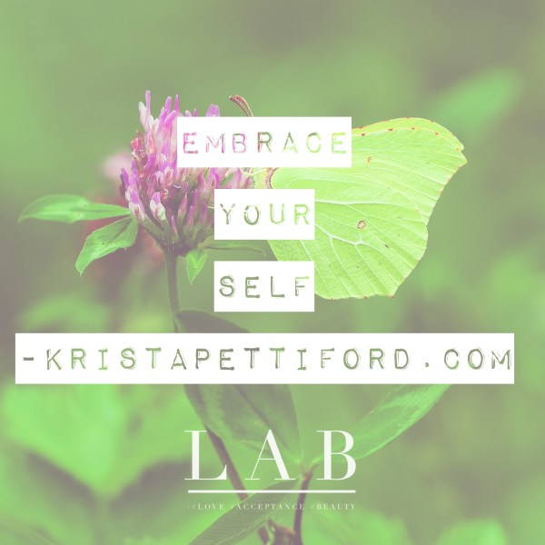 embracing your self
