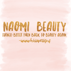Friday Introductions – Naomi
