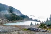 Lake on Whistler mountain