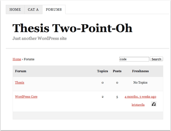 Thesis     Theme Review   WordPress Theme Framework ReInvented NicheHacks