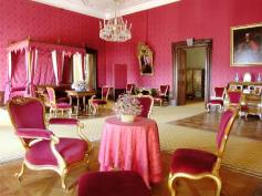Regal pink bedroom