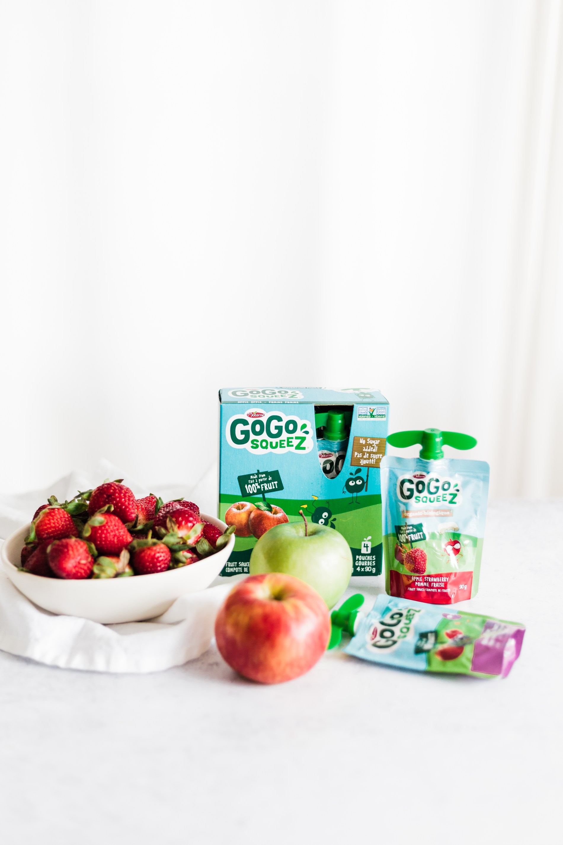 5 simple tips to getting more fruits and veggies in your kids' diet #gogosqueez #applesauce #pickyeaters