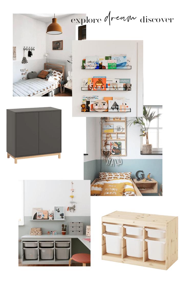 Home updates: Jude's bedroom   Kid's Bedroom Mood Board #scandanaviankidsbedroom #kidsbedroom #kidsbedroommoodboard #kidsroom