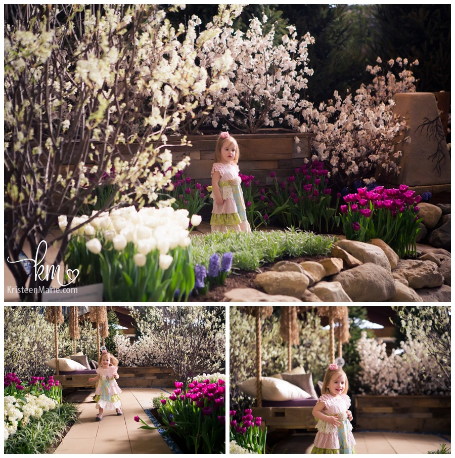 lydia is two family session at the indiana flower and patio show