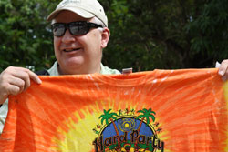 Scot and the Tie Die Shirt