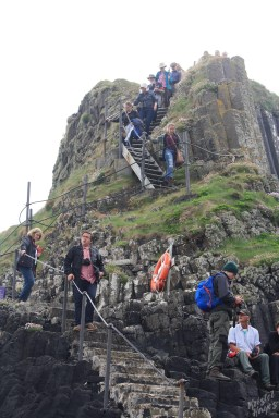 Isle of Staffa: Staircase to Find the Puffins
