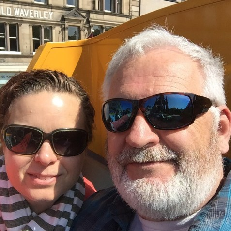 Edinburgh: Hop On Hop Off Selfie