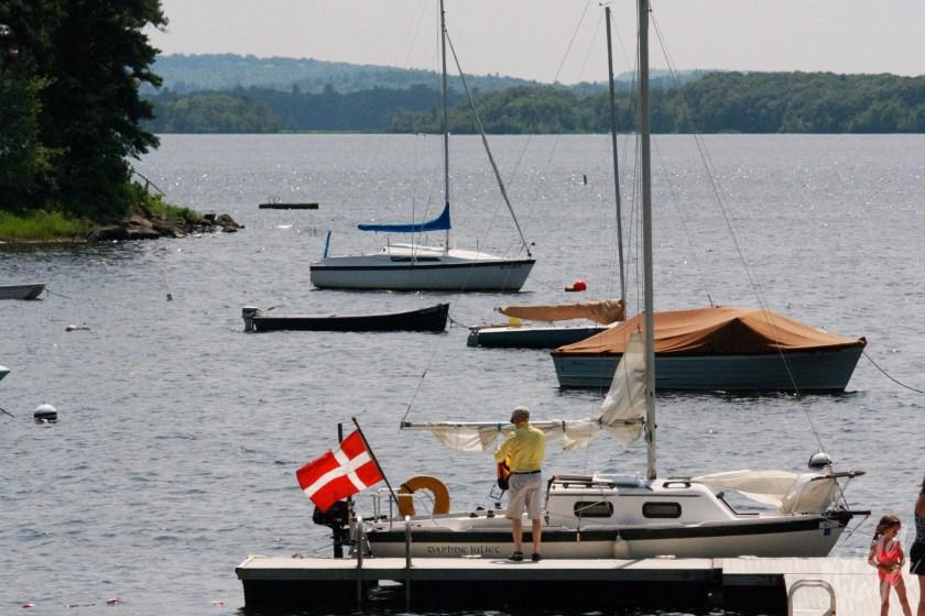 Androscoggin Yacht Club Dock