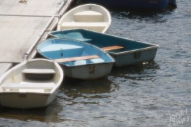 Dinghys On the Dock