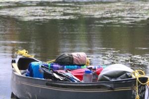 Freighted Down Canoe