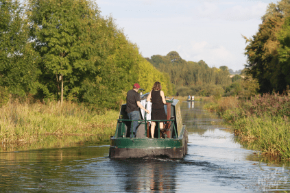 Unexpectedly Sunny Fall Days on the River Barrow
