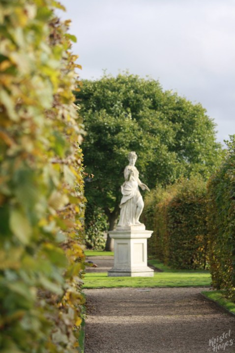Beckoning Statue-Gardens at Royal Hospital Kilmainham, Dublin