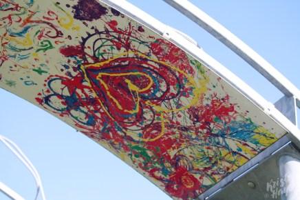 Bridging Panel 2, Abstract-Carlow Town Park Art Installation-River Barrow, Ireland