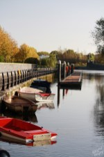Carlow Town Dock-River Barrow, Ireland
