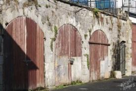 Crumbling Stone Carlow Building-River Barrow, Ireland