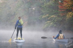Duo Paddling-Royal River, Yarmouth Maine