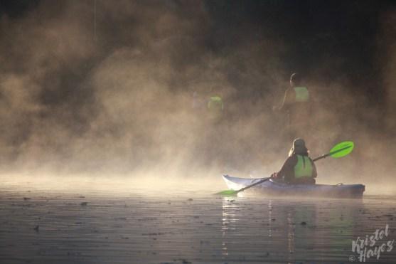 LL Bean Outing Club Sunrise Paddle-Royal River, Yarmouth, Maine